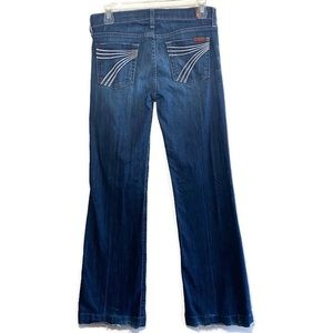 7FAM 7 For All Mankind Dojo Flare Jeans Size 26